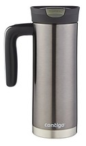 Contigo SnapSeal Superior Stainless Steel Travel Mug, 20 oz, Gunmetal - $12.81