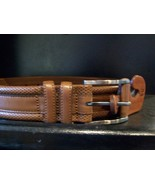 Tommy Bahama Men's Belt, San Mario, Brown, Sz 3... - $66.00