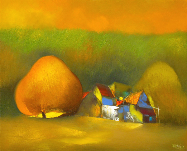 70 yellow village