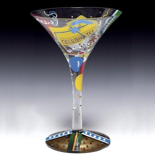 "Lolita Glass  ""Birthday Guy"" Martini"