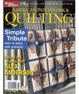 BH&G American Patchwork & Quilting Magazine Jun 2003 #62 - $7.99