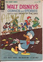 Gold Key Walt Disney's Comics and Stories V24 #12 Donald Mickey Mouse Ba... - $2.95