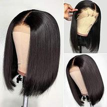 Tinashe 9A Human Hair Wigs Bob Wig Straight Hair 13x4 Lace Front Human Hair Wigs image 3