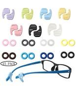 15 Pack Anti-Slip Glasses Ear Grip Hooks, Round Eyewear Retainer, Soft P... - $8.57