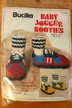Nwt Bucilla Baby Jogger Booties Kit 7929 Knit Crochet Green Bay Packers Sneakers - $6.00