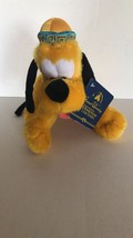 Disney Parks Shanghai Grand Opening 9in Pluto Plush New with Tags - $12.60