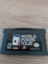 Nintendo Game Boy Advance GBA World Poker Tour image 2
