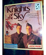 """Knights of the Sky by Microprose for PC 5.25"""" - $10.00"""
