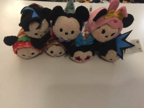 "Disney TSUM TSUM Minnie Mickey 3.5"" Mini Plush Lot 7 ct image 3"