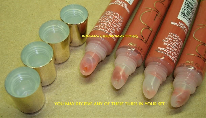 LOreal Lip Le Gloss Colour Riche 156 REALLY ROSE 2 Tube Set Balm Stick