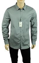 New Calvin Klein Ck One Long Sleeve Ultra Slim Fit Engineered Diamond Shirt Xl - $24.99