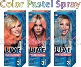 Schwarzkopf LIVE Color Pastel Spray No Damage Hair Temporary Hair Dye Co... - $8.29