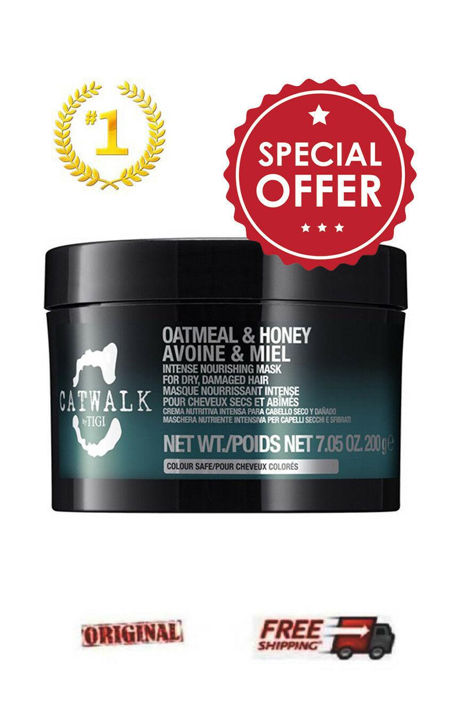 Tigi Catwalk Oatmeal Honey Intense Nourishing Mask 200gr SPECIAL OFFER - $42.22
