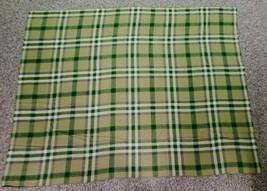 Vtg Polo Ralph Lauren Plaid Wool Throw Blanket Olive Green Gray Purple 7... - $321.75