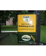 Cadie Wax Polishing Cloth and Tin Vintage - $40.00