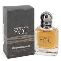 Stronger With You by Giorgio Armani Eau De Toilette Spray 1 oz (Men) - $59.95