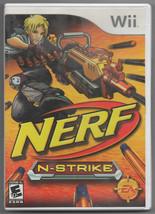 Nerf N-Strike Elite (Nintendo Wii, 2009) Complete - $3.50