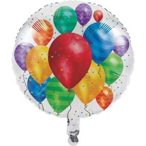 "Balloon Blast Birthday Party Metallic Foil 18"" - $4.39"