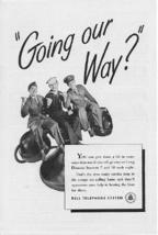1945 Bell Telephone US Servicemen 2 Vintage Print Ads - $4.00