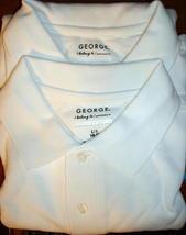 George Boy School Uniform Short Sleeve Shirt x2 XLarge 14 16 - $7.45
