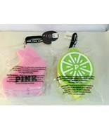 Victoria's Secret PINK Sponge Loofah Bea Bunny + Lizzy Lemon Bubble Babes - $19.95