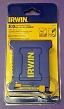 Irwin 2084400 Unbreakable Bi-Metal Blue Utility Blades 100 Pack - $18.81