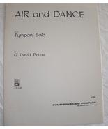Peters - Air & Dance - Timpani solo - $8.50