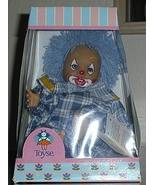 1/2 off! Spain Toyse Blue Haired Clown Doll New in Box - $5.00