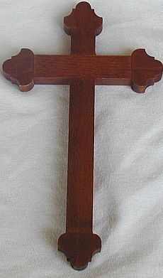 Wood Cross from Galilee