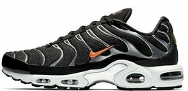 NIKE AIR MAX PLUS TN SE BLACK/ORANGE SIZE 11.5 NEW FAST SHIPPING (CD1533... - $114.55