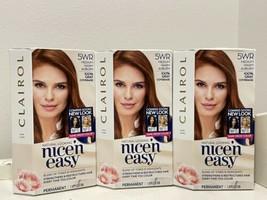 3x Clairol Nice'n Easy Permanent Hair Dye Color 5WR Medium Warm Auburn Red - $38.60