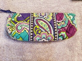 Vera Bradley Cosmetic Makeup Travel Bag Retired Pattern Heather Free Shi... - $14.85