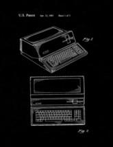 Apple Personal Computer Patent Print - Black Matte - $7.95+