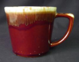 Vintage McCoy Lancaster Colony Brown Drip Mug Cup - $3.00