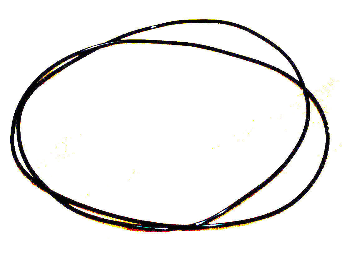 *New Set of 2 Replacement BELTS for use with SONY TC-530 RUBBER REEL to REEL - $13.85