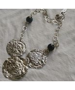 Armenian silver necklace 3rounds - $160.00