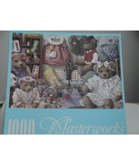 Teddy Bear Wear 1000 Piece Masterworks Jigsaw Puzzle - $7.50