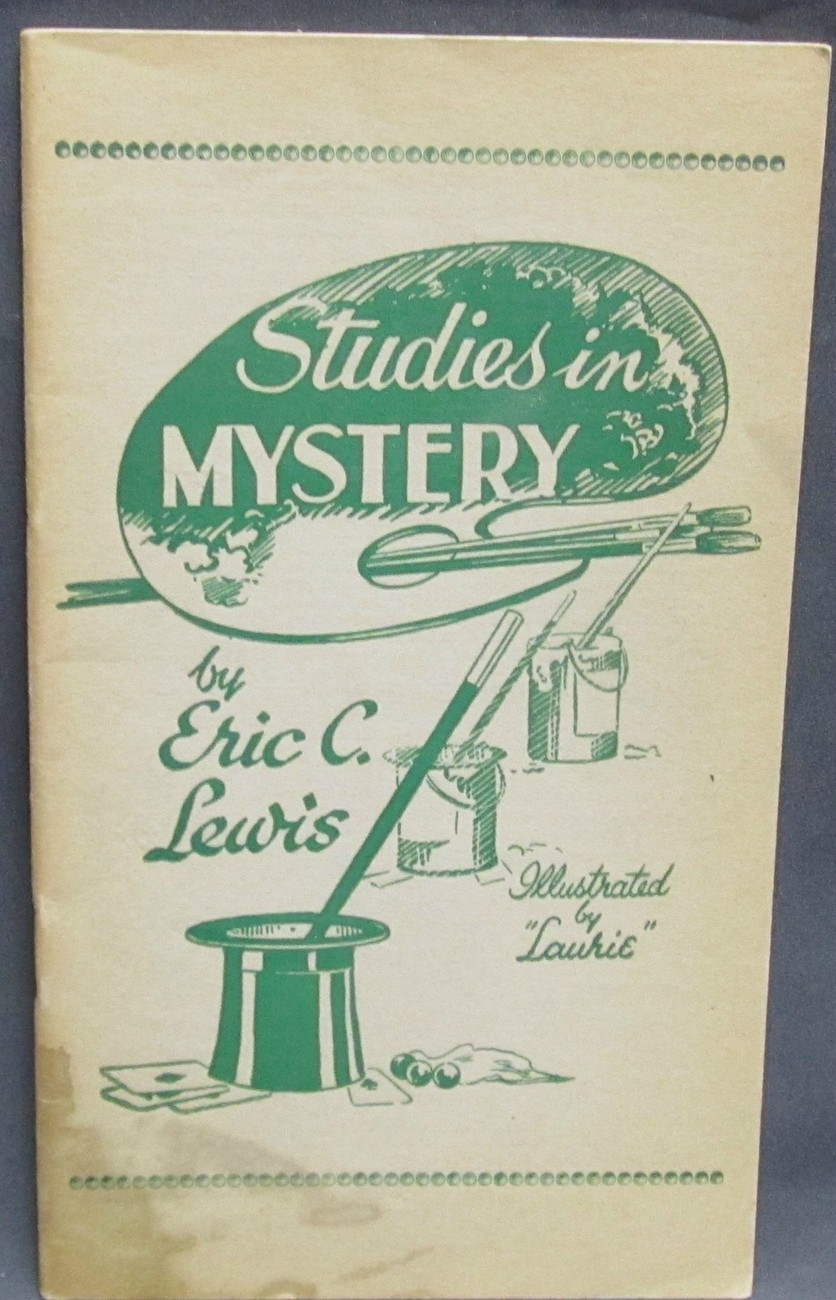 Studies in Mystery by Lewis, Eric