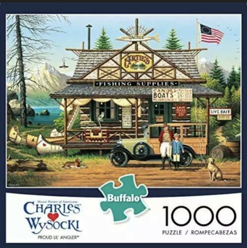 Primary image for Buffalo Games - Charles Wysocki - Proud Lil' Angler - 1000 Piece Jigsaw Puzzle