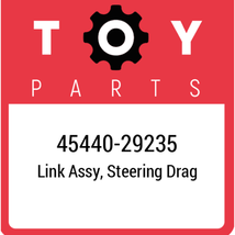 45440-29235 Toyota Steering Drag Link, New Genuine OEM Part - $113.07