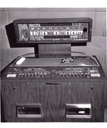 VINTAGE ARCADE GAME MACHINE B&W photograph - $3.95