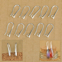 100Pcs Lot Making DIY Jewelry Findings 925 Sterling Silver Hook - $22.37