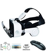 VR Headset 3D For Samsung Galaxy S8 Glasses Virtual Reality & Headphones... - $69.12
