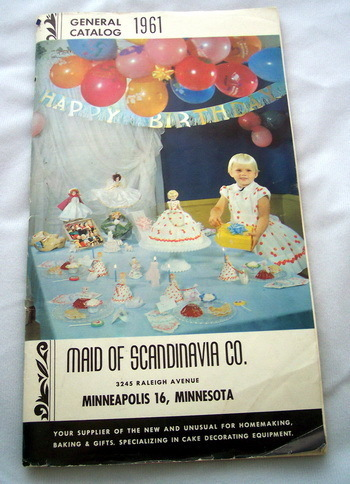 1961 Maid of Scandinavia Co. Catalog Vintage