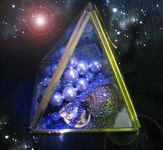 FREE W $222 CHARGING PYRAMID BOX FILLED WITH 6 RARE MAGICKALS MAGICK  - $0.00