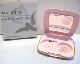 Mary Kay Perfect Pair Compact to put a cream/powder foundation & lipstick - $14.99