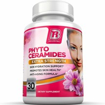 Phytoceramides - An All Natural Anti Aging Healthy Skin Supplement Deriv... - $24.69