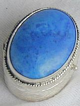 Blue and light  mini box