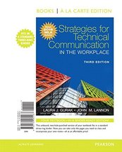 Strategies for Technical Communication in the Workplace, Books a la Cart... - $49.95