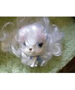 Palace Pets Pumpkin Disney Cinderella Puppy Dog Blip plast w white curly... - $4.84